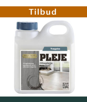 Trip Trap Oliepleje Hvid 2,5 Liter